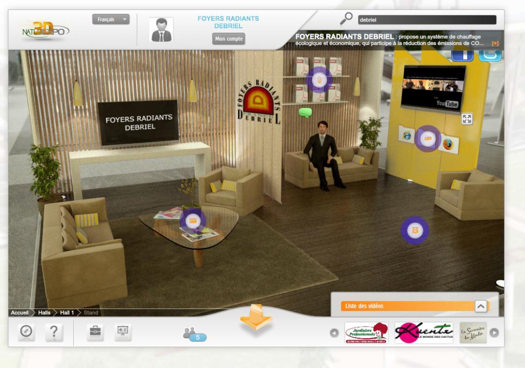 poele de masse au salon virtuel écologie