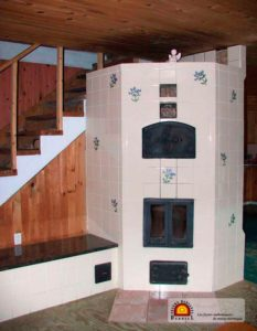 foyer de masse thermique céramique