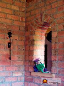 foyer de masse briques