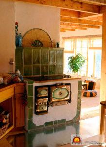 cuisinière de masse à inertie Debriel