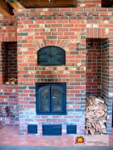 foyer de masse thermique en briques