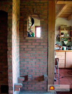 poele de masse en brique