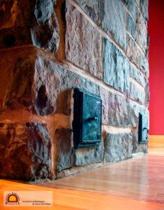foyer bois masse inertie rayonnement
