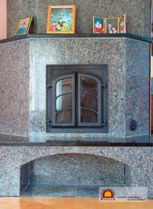 foyer bois masse inertie accumulation