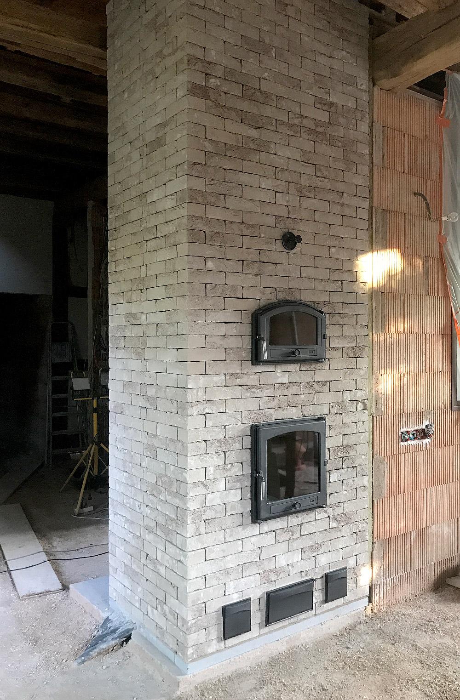 Artisan Poele De Masse poele de masse debriel foyer de masse et briques sèches